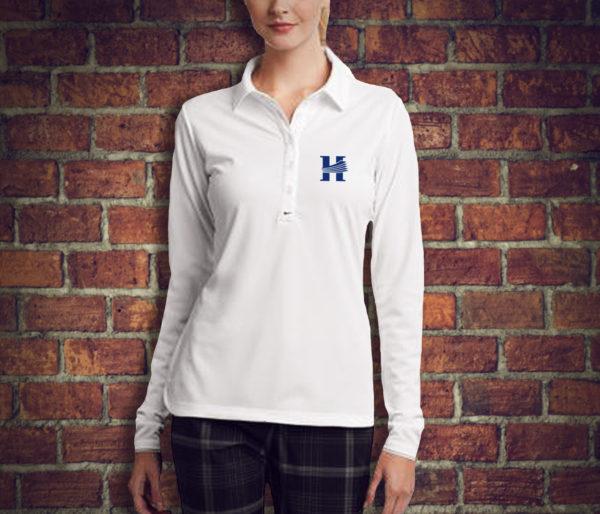 bc69b2da9bc Nike Golf Ladies Long Sleeve Dri-FIT Stretch Tech Polo   Shop HIG